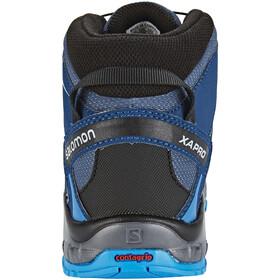 Salomon XA Pro 3D Mid CSWP Shoes Kids slateblue/blue depth/bright blue